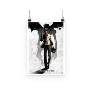 Poster Death Note Light New World
