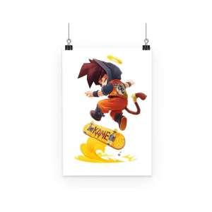 Poster Dragon Ball Goku Street Style