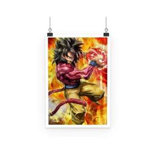Poster Dragon Ball GT Goku SSJ 4