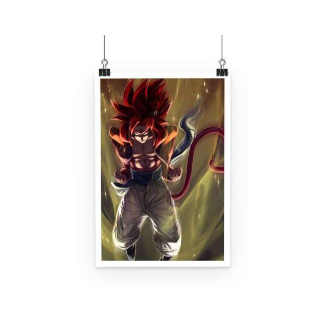 Poster Dragon Ball GT Goku SSJ4 2