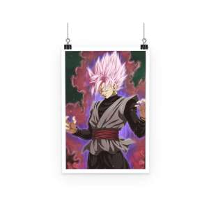 Poster Dragon Ball Z Black SS Rosé