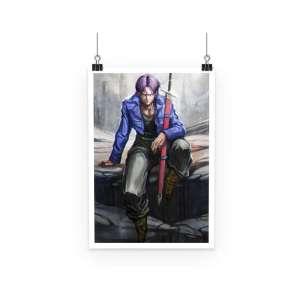 Poster Dragon Ball Z Futur Trunks