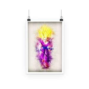 Poster Dragon Ball Z Gohan SSJ 2