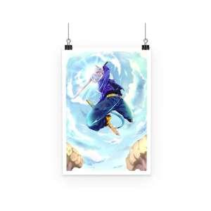 Poster Dragon Ball Z Trunks Attack