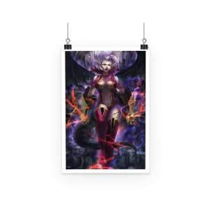 Poster Fairy Tail Mirajane Power