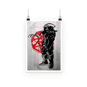 Poster Full Metal Alchemist Alfonse Symbol