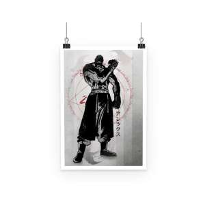 Poster Full Metal Alchemist Armstrong