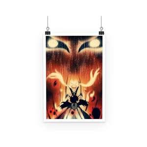 Poster Naruto Kyubi Mode