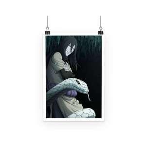 Poster Naruto Orochimaru