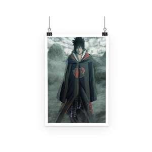 Poster Naruto Sasuke Akatsuki