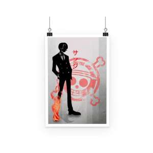 Poster One Piece Sanji