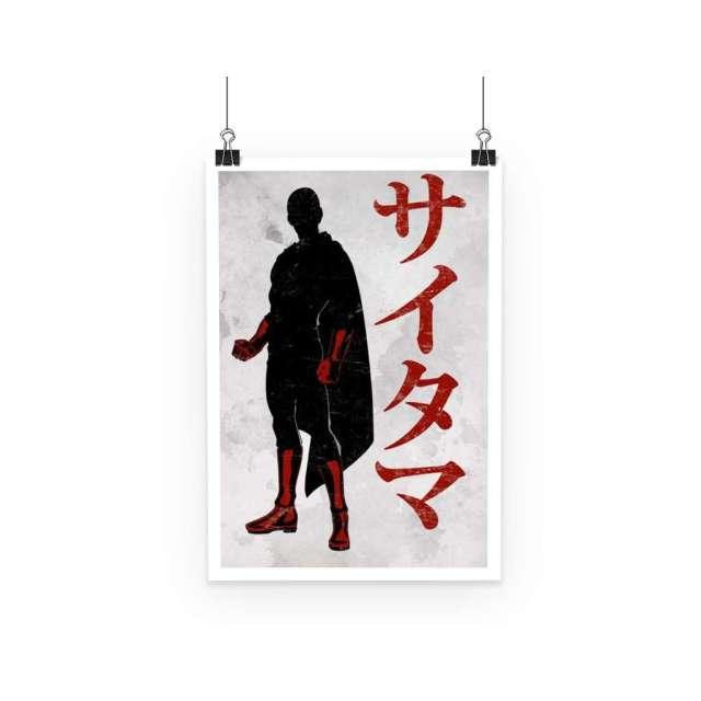 Poster One Punch Man Saitama