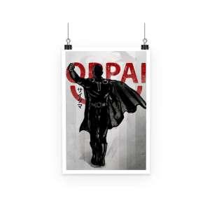 Poster One Punch Man Saitama Oppai