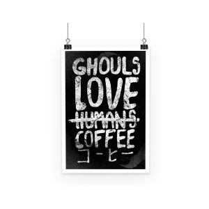 Poster Tokyo Ghoul Love Coffee
