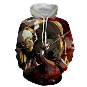Pull à capuche 3D All Over Attack On Titans Armored Titan X Annie
