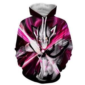 Pull à capuche 3D All Over Bleach Ichigo Vasto Lord Ultimate Cero
