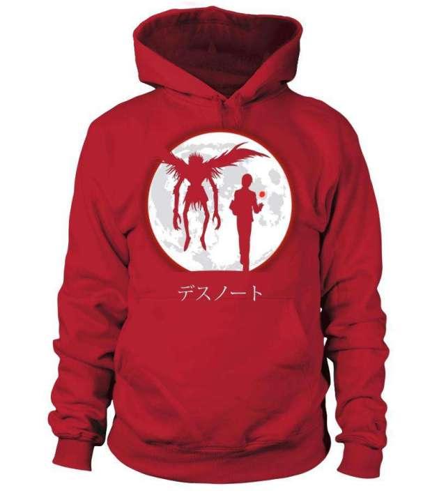 Pull à capuche Death Note Ryuku X Light Moon