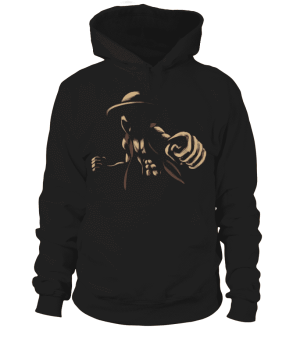 Pull à capuche One Piece Luffy Attack