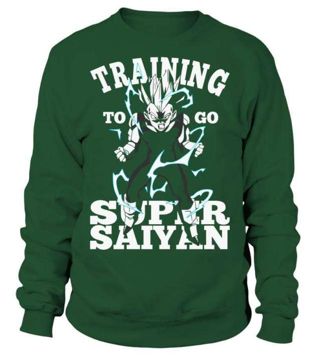 Sweat Classique Dragon Ball Z Vegeta Training To Go Super Saiyan