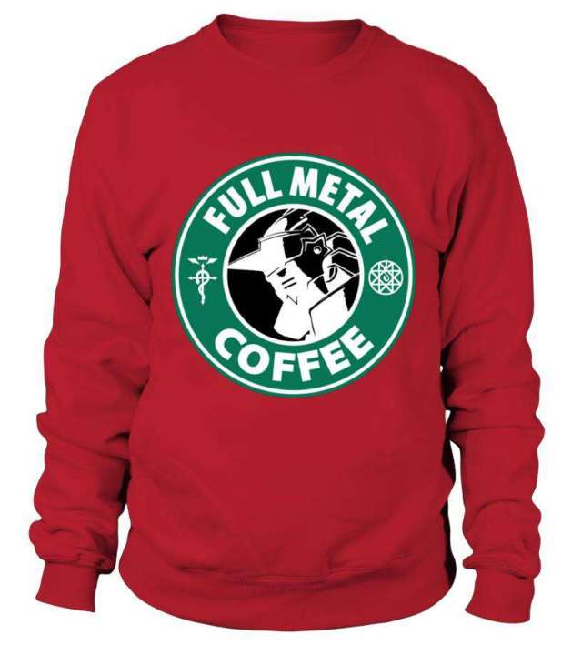 Sweat Classique Full Metal Alchemist Coffee
