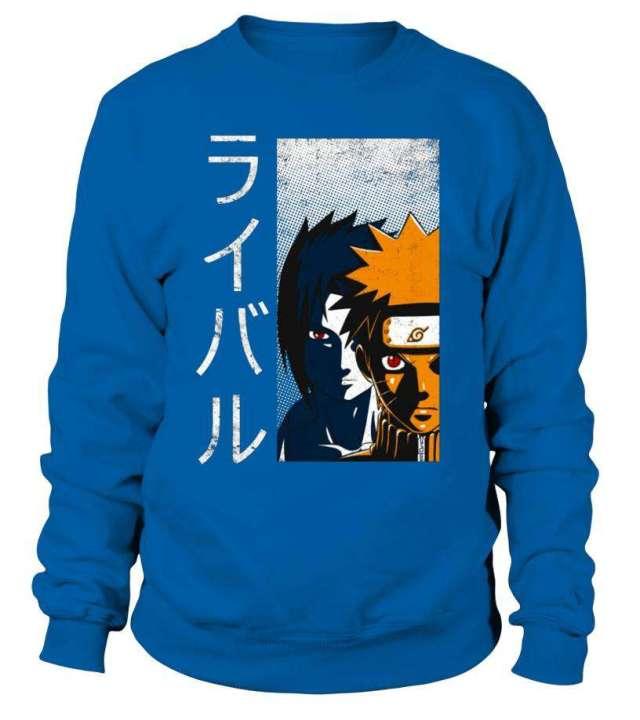 Sweat Classique Naruto X Sasuke
