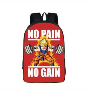 Sac à dos Dragon Ball Z Goku No Pain No Gain