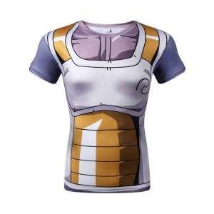 T Shirt 3D All Over Dragon Ball Super Vegeta Armor