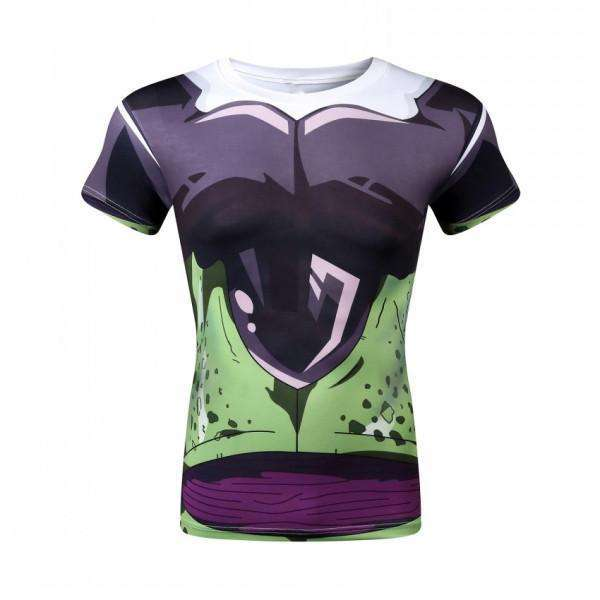 T Shirt 3D All Over Dragon Ball Z Cell