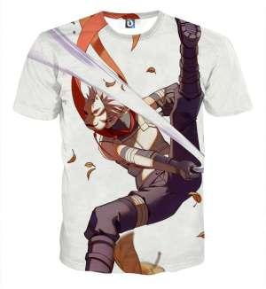 T Shirt All Over 3D Naruto kakashi Anbu