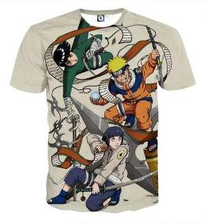 T Shirt All Over 3D Naruto X Hinata