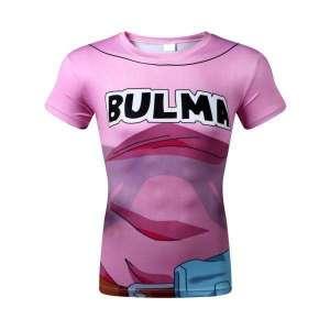 T Shirt Femme 3D All Over Dragon Ball Z Bulma