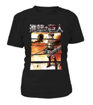 T Shirt Femme Attack On Titans Eren