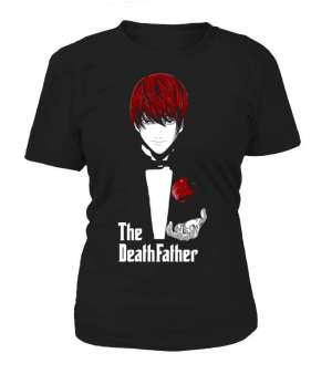T Shirt Femme Death Note Light The DeathFather