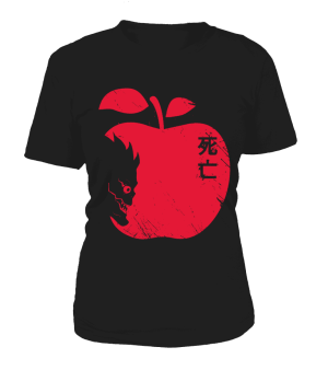 T Shirt Femme Death Note Ryuku Apple