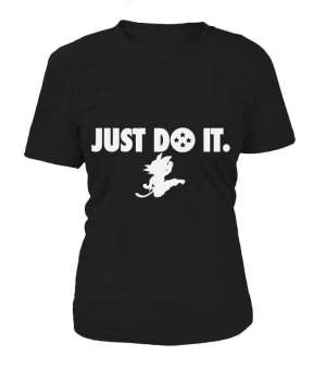 T Shirt Femme Dragon Ball Just Do It