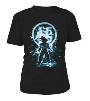 T Shirt Femme Dragon Ball Z Goku Symbôle