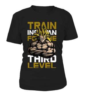 T Shirt Femme Dragon Ball Z Train Third Level