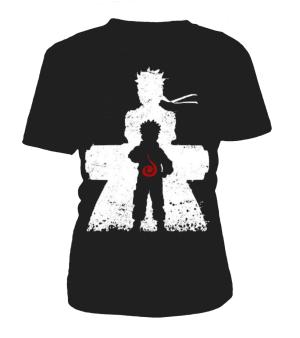 T Shirt Femme Naruto Evolution