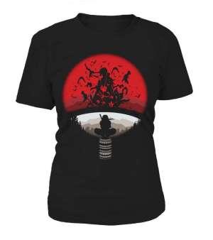 T Shirt Femme Naruto Itachi Attack