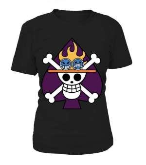 T Shirt Femme One Piece Ace Crew