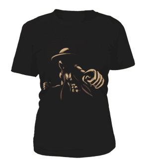T Shirt Femme One Piece Luffy
