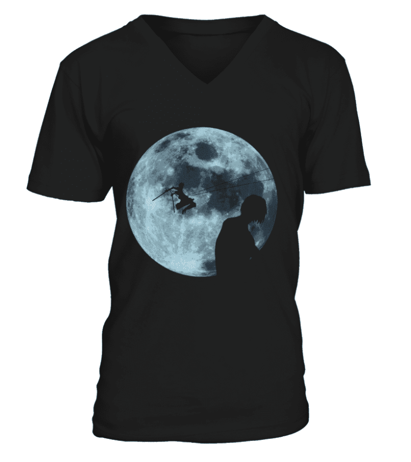 T Shirt Attack On Titans Moon