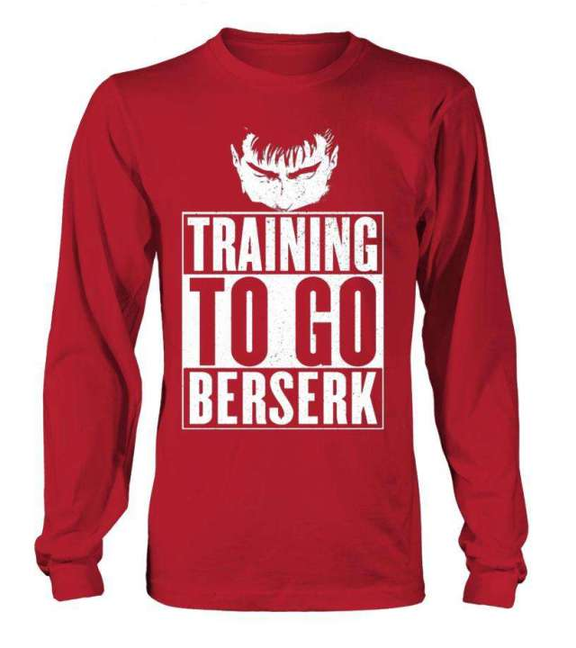T Shirt Berserk Training To Go Berserk