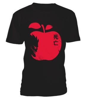 T Shirt Death Note Ryuku Apple