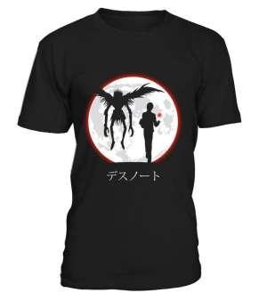 T Shirt Death Note Ryuku X Light Moon