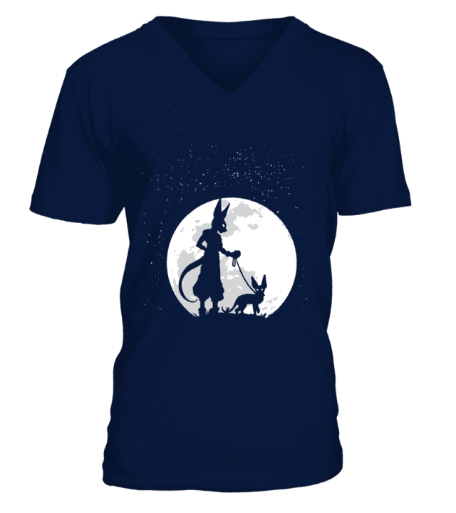 T Shirt Dragon Ball Super Beerus Moon