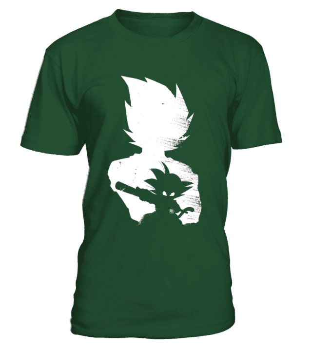 T Shirt Dragon Ball Z Goku Evolution