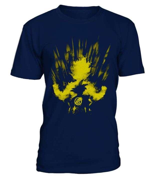 T Shirt Dragon ball Z Goku Super Saiyan