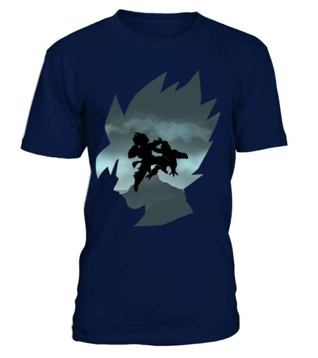T Shirt Dragon Ball Z Goku Vs Freeza