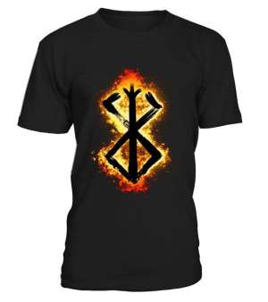 T Shirt Berserk Symbôle Malediction